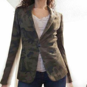 Zara Military Slim Blazer